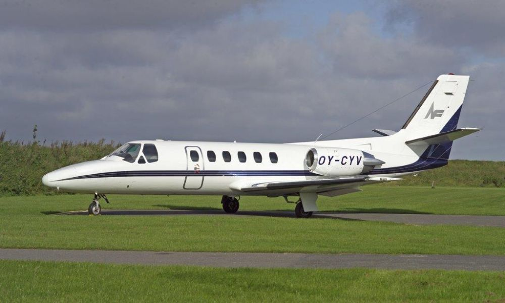 1982 Cessna Citation Exterior
