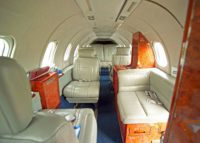 Learjet 35A Interior