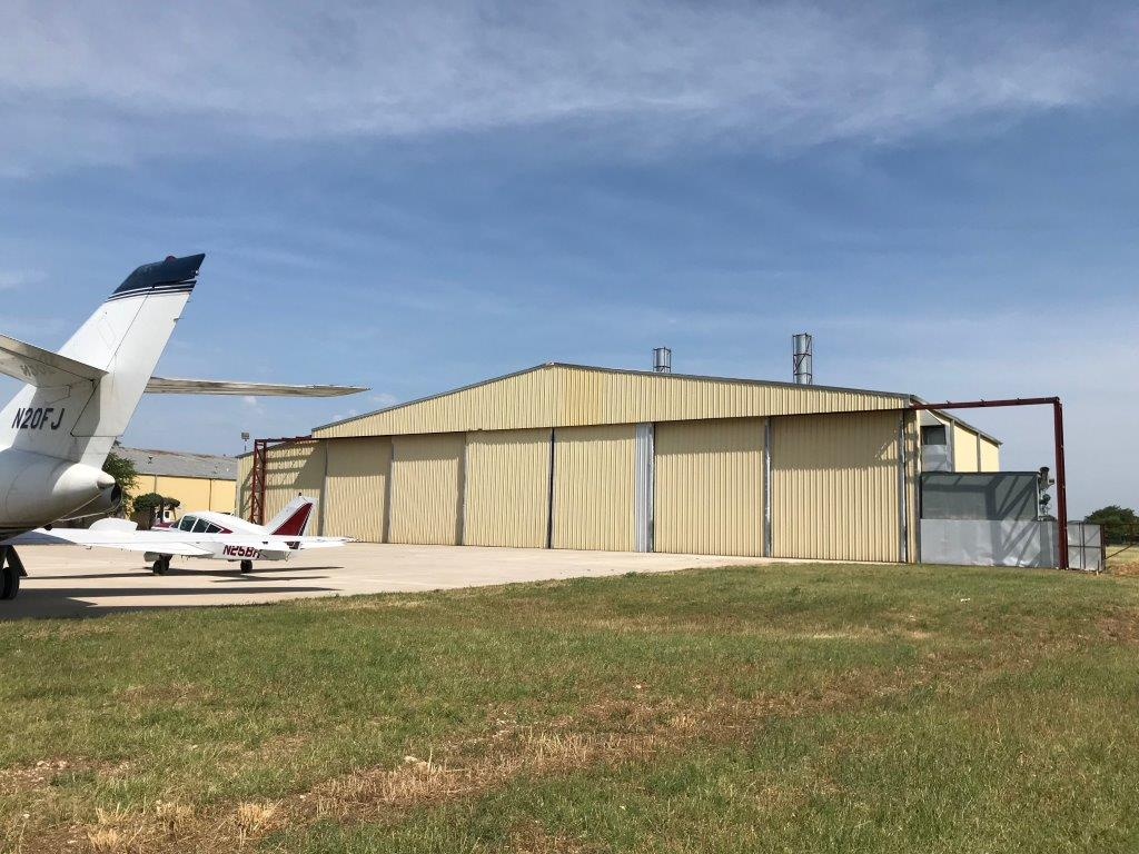 12,000 SF Corporate Hangar for Sale Cleburne Regional Airport (KCPT)