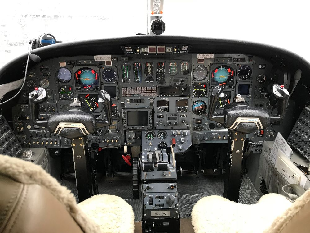 1982 Cessna Citation for Sale Cockpit