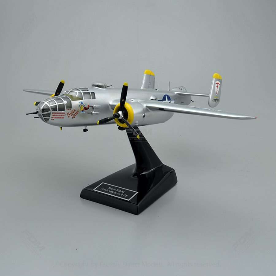 Model military B25 North american for sale