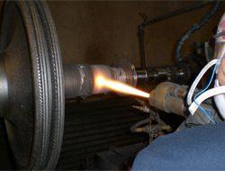 Aircraft Thermal Coating hvof-turbine