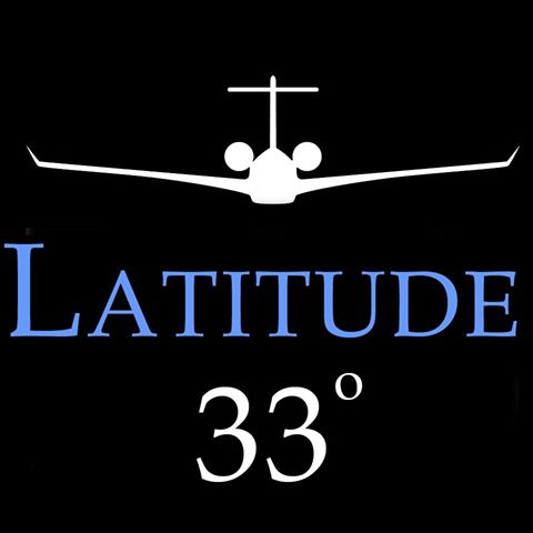 latitude 33 Jets aircraft charter