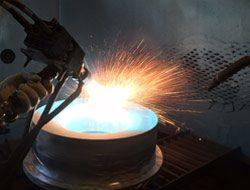Aircraft Thermal Coating metalizing