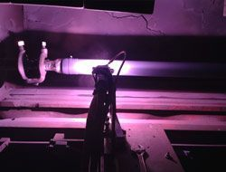 Aircraft Thermal Coating plasma-spray